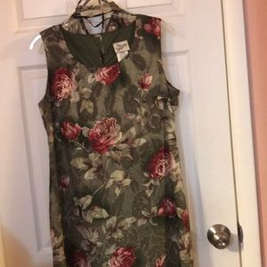 2-pc dress and cover up